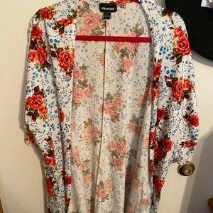 Joe Boxer Floral Cover - Cotton / Spandex Material